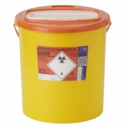 Sharpsguard Orange 22L XA High-Volume Sharps Container (Case of 7)