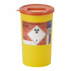 Sharpsguard Orange 5L General-Purpose Sharps Container (Case of 48)