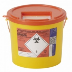 Sharpsguard Orange 7L General-Purpose Sharps Container (Case of 40)