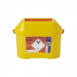 Sharpsguard Extra Orange 8.5L Sharps Container for Scotland (Case of 15)