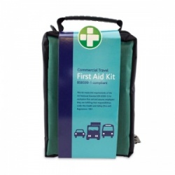 Small Commercial Travel First Aid Kit in Stockholm Zip Bag