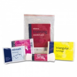 Standard First Aid Training Pack
