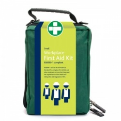 Small Workplace First Aid Kit in Stockholm Zip Bag