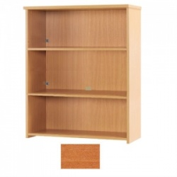 Sunflower Medical Cherry 120cm High Bookcase