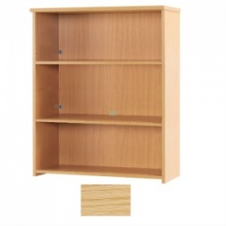 Sunflower Medical Japanese Ash 120cm High Bookcase
