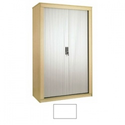 Sunflower Medical White 120cm Tall Tambour Unit