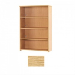 Sunflower Medical Japanese Ash 160cm High Bookcase