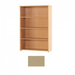 Sunflower Medical Maple 160cm High Bookcase