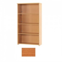 Sunflower Medical Cherry 180cm High Bookcase