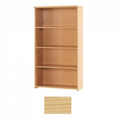 Sunflower Medical Japanese Ash 180cm High Bookcase