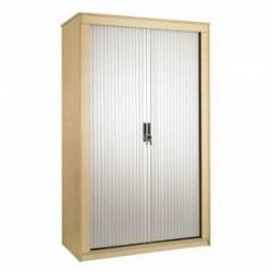 Sunflower Medical Japanese Ash 180cm Tall Tambour Unit