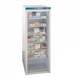Sunflower Medical 400 Litre Glass Door Free-Standing Pharmacy Fridge