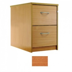 Sunflower Medical Cherry Two-Drawer Filing Cabinet