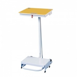 Sunflower Medical 90 Litre Free-Standing Sack Holder with Yellow Lid for Incineration