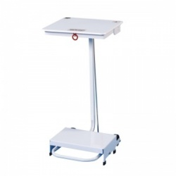 Sunflower Medical 90 Litre Free-Standing Sack Holder with White Lid for General Use