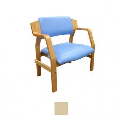 Sunflower Medical Aurora Beige Vinyl Bariatric Armchair