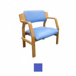 Sunflower Medical Aurora Mid Blue Vinyl Bariatric Armchair