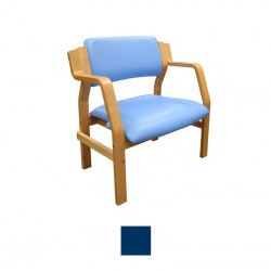 Sunflower Medical Aurora Navy Vinyl Bariatric Armchair
