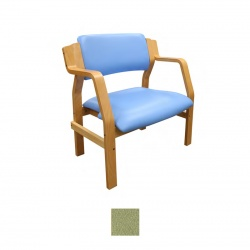 Sunflower Medical Aurora Pastel Green Intervene Bariatric Armchair