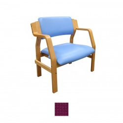 Sunflower Medical Aurora Plum Intervene Bariatric Armchair
