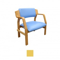 Sunflower Medical Aurora Primrose Vinyl Bariatric Armchair