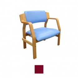 Sunflower Medical Aurora Red Intervene Bariatric Armchair