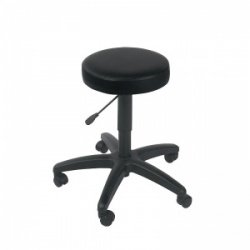 Sunflower Medical Black Gas-Lift Stool