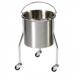 Sunflower Medical Bucket Stand with Bucket and Three Anti-Static Castors