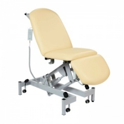 Sunflower Medical Beige Fusion Electric Height Treatment Chair with Single Foot Section