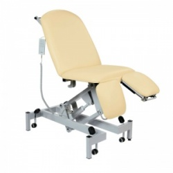 Sunflower Medical Beige Fusion Electric Height Treatment Chair with Split Foot Section