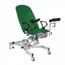 Sunflower Medical Fusion Gynae1 Green Gynaecology Hydraulic Couch