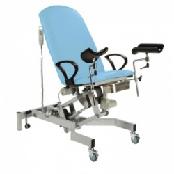 Sunflower Medical Fusion Gynae3 Cool Blue Lithotomy Electric Couch
