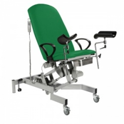 Sunflower Medical Fusion Gynae3 Green Lithotomy Electric Couch
