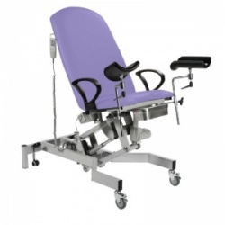 Sunflower Medical Fusion Gynae3 Lilac Lithotomy Electric Couch
