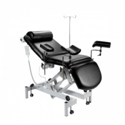 Sunflower Medical Black Fusion Drop End Multi-Discipline Couch with Electric Adjustment