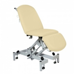 Sunflower Medical Beige Fusion Hydraulic Height Treatment Chair with Single Foot Section