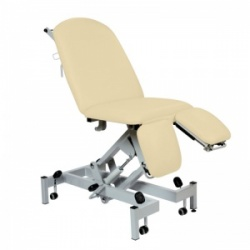 Sunflower Medical Beige Fusion Hydraulic Height Treatment Chair with Split Foot Section