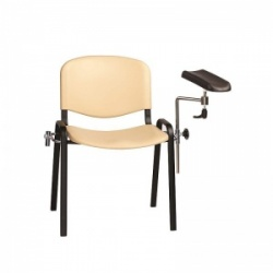 Sunflower Medical Beige Phlebotomy Chair with Moulded Seat and Back