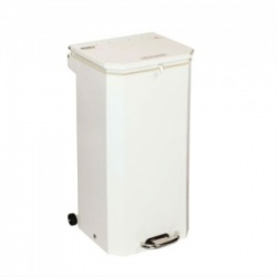 Sunflower Medical 70 Litre Clinical Hospital Waste Bin with White Lid for General Use