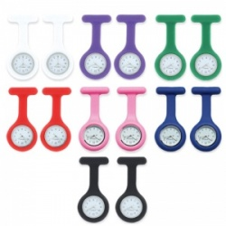 Timesco Silicone Nurses' Fob Watch (Pack of 14)
