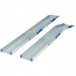 Ultralight-Combi Adjustable Folding Threshold Wheelchair Ramps (Pair of Ramps)
