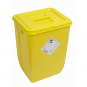 WIVA Yellow 50-Litre Clinical Waste Container