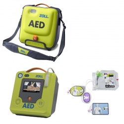 Zoll AED 3 Semi-Automatic Defibrillator with Carry Case and Spare Pad