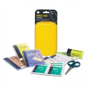 Travel First Aid Kit in Large Tabula Box