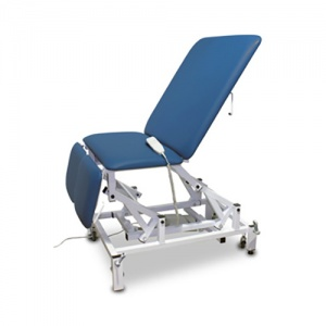 Bristol Maid Electric Four-Section Bariatric Treatment Chair with Foot Switch