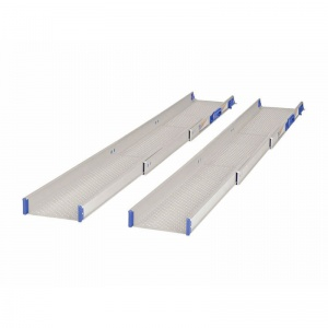 Ultralight-Telescopic Adjustable Wheelchair Ramps (Pair of Ramps)