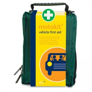 Vehicle First Aid Kit in Stockholm Bag