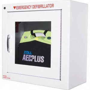 Zoll AED Plus Defibrillator Wall Cabinet