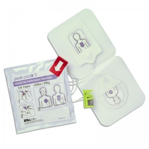 Zoll Pedi-Padz II Electrodes for AED Plus and Pro Defibrillators