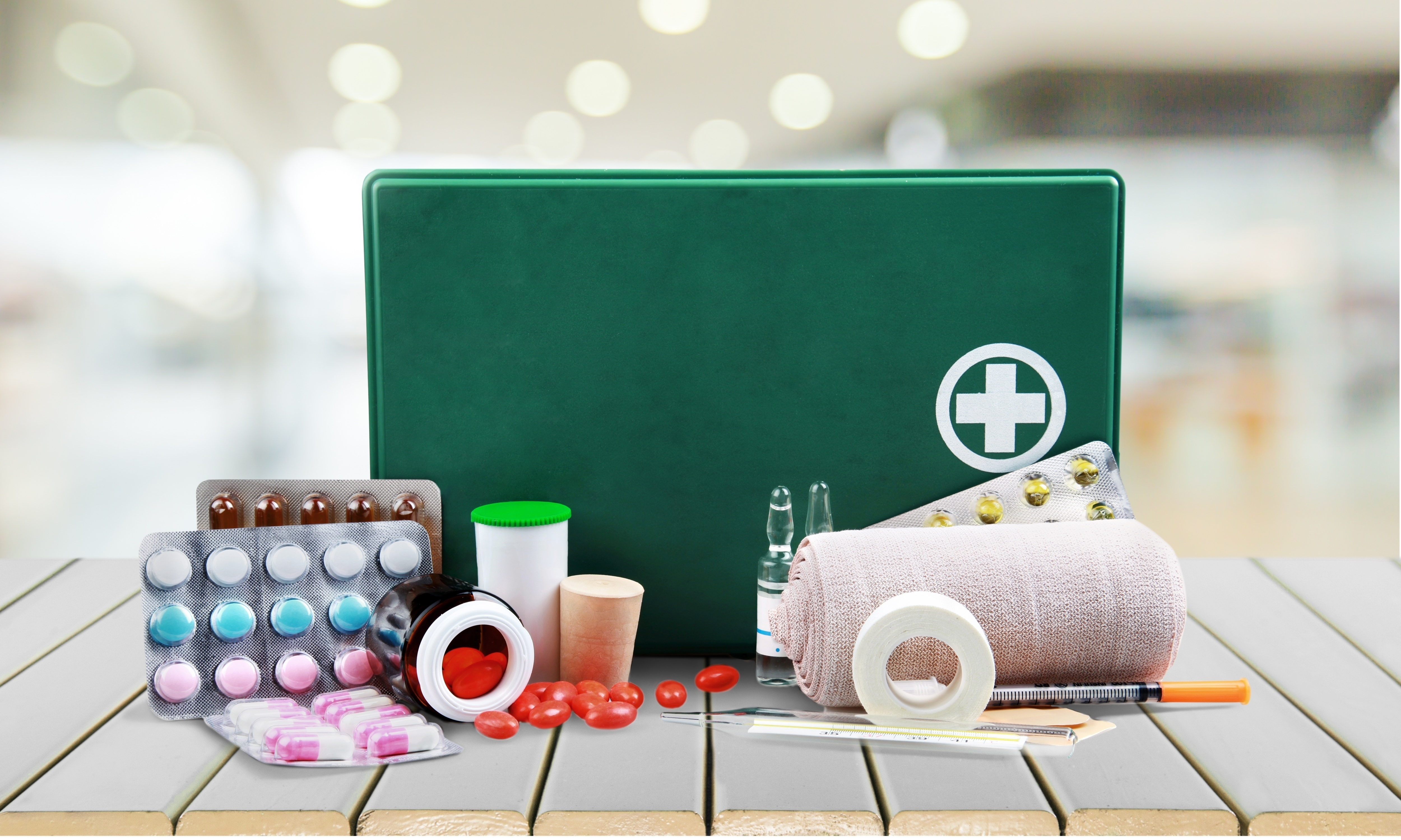Keeping Your First Aid Kit Full Protects Employees